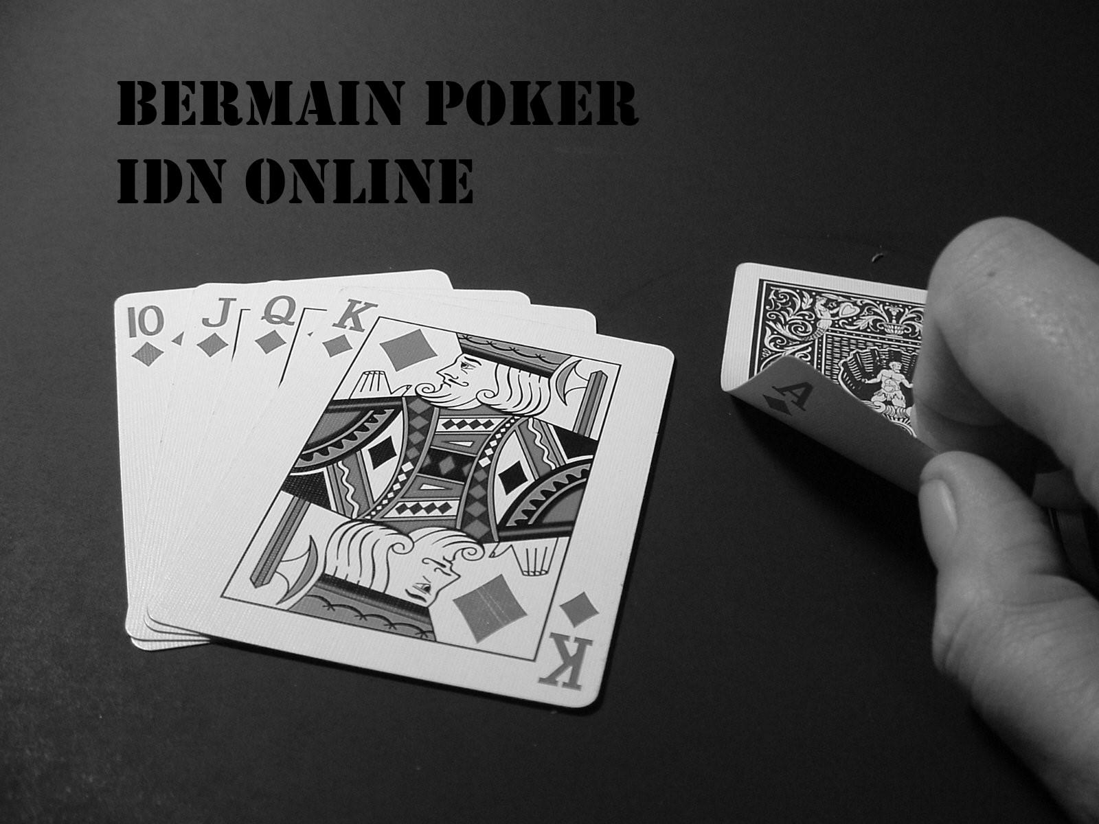 Judi Idn Poker Terbaru Indonesia